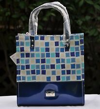 "Beijo Bag ""Lunch Hour"" Insulated Tote Multi-color  Blue or Ebony New w tags"