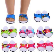 """Dolls Shoes Slipper Sandals for 18"""" American Girl Our Generation Dolls Dress Up"""