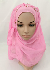 Fashion Women Chiffon Hijab Scarf Muslim Wrap Shawl Islamic Headwrap Lady Hijab