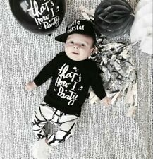 2pcs Clothing Toddler Boys Girls Baby Clothes Outfits Set Infant Tops+Pants