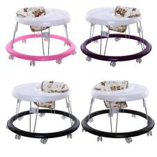 Foldable Baby Toddler Walker Activity Play Tray Toy First Steps Learn Tools HOT