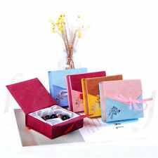 Square Bowknot Package Bracelet Bangle Jewelry Display Box Gift Present Case New