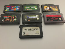 Nintendo Gameboy Advance GBA game lot !! Choose your own !! games for all ages