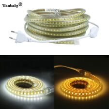 SMD 2835 Flexible Led Strip Light Power Plug,120leds/m IP65 Waterproof led