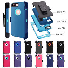 For Apple iPhone 8 & 8 Plus Case Cover {Belt Clip fits Otterbox Defender}