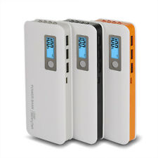AU 3USB 50000mAh LCD Portable LED Power Bank External Battery Charger For Phone
