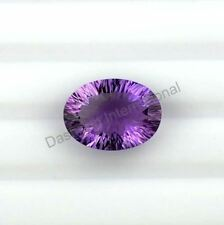NATURAL AMETHYST CONCAVE CUT OVAL SHAPE 6X8 MM TO 13X18 MM SIZE LOOSE GEMSTONE