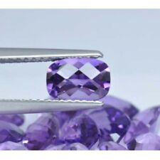 NATURAL AMETHYST CONCAVE CUT CUSHION SHAPE 6 MM TO 9 MM SIZE LOOSE GEMSTONE