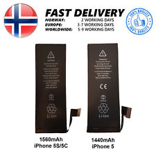 For iPhone 5 5S 5C NEW Replacement Battery - 1440mAh - 1560mAh
