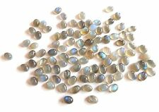 Natural Labradorite Oval Lot Loose Gemstone Flashing Labradorite Cabochon Lot