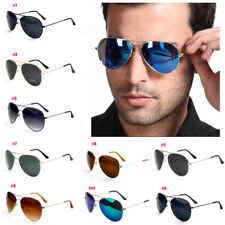 Unisex Vintage Retro Aviator Sunglasses Glasses Eyewear Womens Men UV Protection
