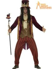 Adult Deluxe Voodoo Witch Doctor Costume Halloween Fancy Dress Mens Outfit