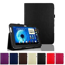 "Folio PU Leather magnet Cover Stand For Samsung Galaxy Note 10.1"" SM-N8000 Case"