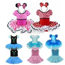 Toddler Girl Kid Ballet Dance Leotard Tutu Dress Princess Dancewear Costume 2-10