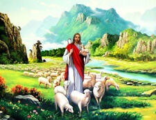 Best gift Art wall Home Decor HD Prints oil painting on canvas Jesus Figures s83