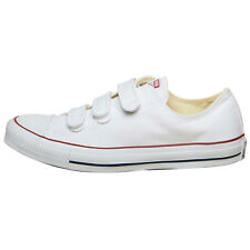Converse CT All Star Ox Velcro Trainers Lo Top White Shoes Unisex Various Sizes