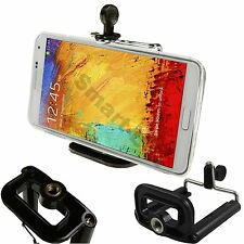 Smart Mobile Cell Phone Tripod Holder Clip Fits Apple, Samsung, Nokia, HTC, LG