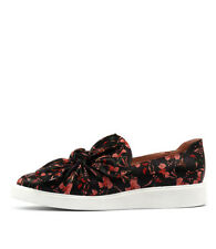 New Mollini Daces Black Floral Womens Shoes Casual Sneakers Casual