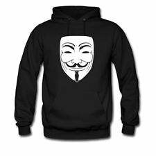 Guy Fawkes Mask Men's Hoodie by Spreadshirt™