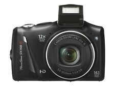 NEW Canon Power Shot SX150 IS Black Digital Camera, 14.1 Mega Pixels