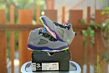 "*Rare* Air Jordan 5 Retro (PS) ""Bel Air"" Pre-School Size 3 - (440889 090)"