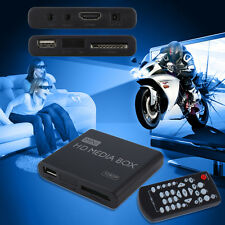 Mini Full 1080p HD Media Player Box MPEG/MKV/H.264 HDMI AV USB + Remote ZH