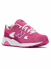 New Balance Girls' 580 Paper Lights Sneakers KL580RUG Pink/White