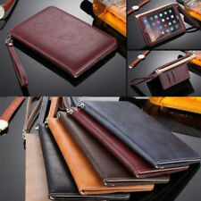 Smart Strap Leather Wallet Card Slots Stand Case Cover For iPad 2 3 4/Air 2/Mini