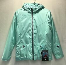Spyder Girls Glam Snow Ski Winter Jacket Color Aqua Blue Size Youth 16 NEW