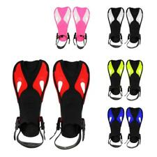 Kids Snorkeling Fins Scuba Diving Swimming Pool Training Aid Adjustable Flippers