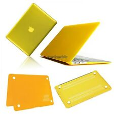 "Yellow Frosted/Crystal Plastic Hard Case For Apple Macbook Pro 13"" CLSV01"