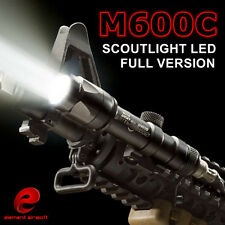 Tactical Hunting M600C LED Scout Light Weapon Flashlight Airsoft Torch New Ver.