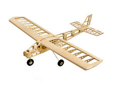 DW Hobby RC Electric Balsa 1300mm Cloud Dancer Wooden Training Airplane Combo