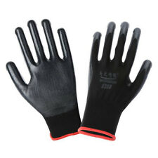 1/2/4Pairs Nylon Nitrile Safety Work Gloves Builders Grip Palm Coating Gloves