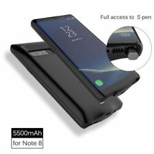 5500mAh External Backup Battery Charger Case Power Bank for Samsung Galaxy Note8
