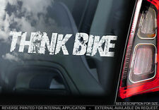 THINK BIKE! - Valentino Rossi Car Sticker -Doctor #46- PROCEEDS TO CHARITY - V02