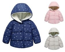Kids Winter Jacket Coat Baby Girl Girls Outerwear Autumn Toddler Warm Clothes