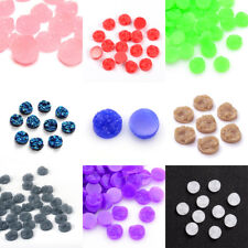 300x Druzy Resin Cabochons Flatback Round Embellishment Findings 12mm Pick Color