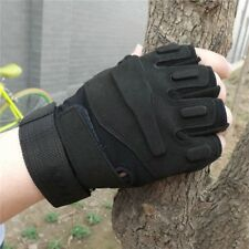 Fashion Fingerless Gloves Hunting Breathable Motorcycle Best Driving Bicycle