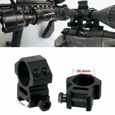 Variety 2PC Flashlight Laser Torch Scope Barrel Mount Clamp for Surefire Hunting