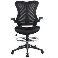 Ergonomic Adjustable Drafting Reception Office Stool-Chair with Armrests ES88