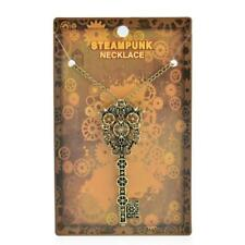 Steampunk Necklace Key Gear Pendant Personality Steam Punk Charms Jewellery