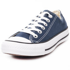Converse All Star Lo Top Womens Blue Canvas Casual Trainers Lace-up New Style