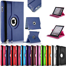 360° Rotating Leather Case Smart Cover / Screen Protector For iPad Mini 4