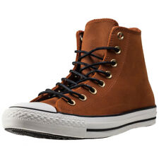 Converse Ct All Star Leather Corduroy Mens Trainers Tan New Shoes