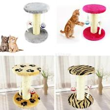 Cat Scratching Post Pad Cat Tree Play Toys Activity Center Pet Funiture House