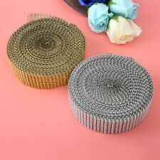 10 Yard  New Diamond Mesh Wrap Roll Crystal Ribbon Festive Party Cake Decoration