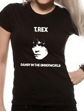 OFFICIAL LICENSED - T REX - DANDY IN THE UNDERWORLD T SHIRT ROCK BOLAN