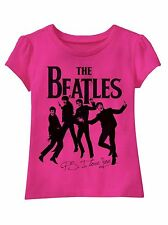 "NWOT The Beatles ""P.S. I Love You"" Girls Infant Baby Toddler T-shirt (12M,18M)"