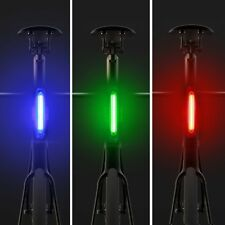 Waterproof USB Rechargeable LED Lamp Bike Bicycle Safety Warning Head Light Lamp